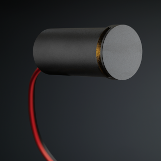 Cree LED Treppenbeleuchtung Lepe | Schwarz | Rund | Warm Weiß | 1 Watt L2176