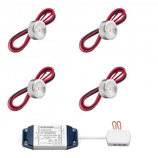 Cree LED Aufbaustrahler Navarra bas | Warm Weiß | Set mit 4, 6, 8, 10 oder 12 Stück L2221