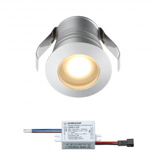 Cree LED Einbaustrahler Burgos | Warm Weiß | 3 Watt | Dimmbar L2108