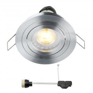 Coblux LED Einbaustrahler | Warm Weiß | 5 Watt | Dimmbar | Kippbar L2061