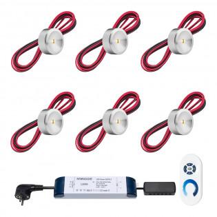 Cree LED Aufbaustrahler Veranda Navarra ab | Warm Weiß | Set mit 6, 8, 10 oder 12 Stück L2014