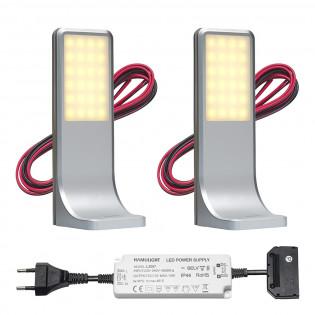 LED Unterbauleuchte Küche Tumba | Touch | Warm Weiß | Set mit 2, 3 oder 4 Stück L2116