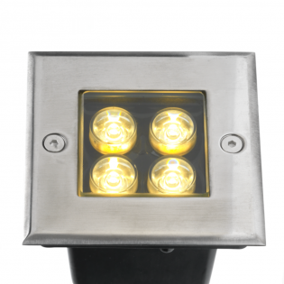 Cree LED Bodeneinbaustrahler | Warm Weiß | 4 Watt L1028
