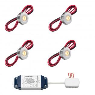 Cree LED Einbaustrahler Pals bas | Warm Weiß | Set mit 4, 6, 8, 10 oder 12 Stück L2230