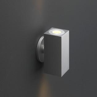 Cree LED Wandleuchte Lamego | Warm Weiß | Eckig | 2 x 1,5 Watt | Up & Down L2198