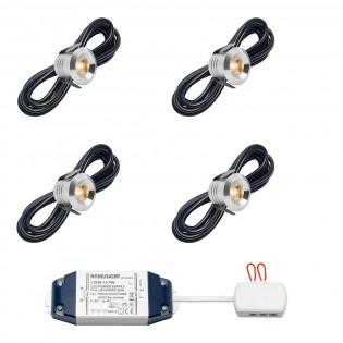 Cree LED Einbaustrahler Marbella bas | Warm Weiß | Set mit 4, 6, 8, 10 oder 12 Stück L2236