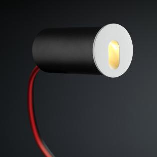 Cree LED Treppenbeleuchtung Jaca | Weiß | Rund | Warm Weiß | 1 Watt L2248