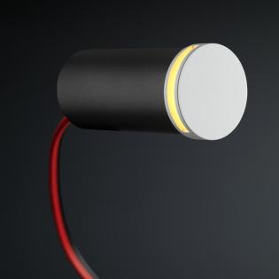 Cree LED Treppenbeleuchtung Lepe | Weiß | Rund | Warm Weiß | 1 Watt L2249