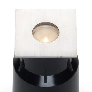 Cree LED Bodeneinbaustrahler Moura | Warm Weiß | 3 Watt | Eckig L2087