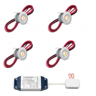 Cree LED Einbaustrahler Madrid bas | Warm Weiß | Set mit 4, 6, 8, 10 oder 12 Stück L2224
