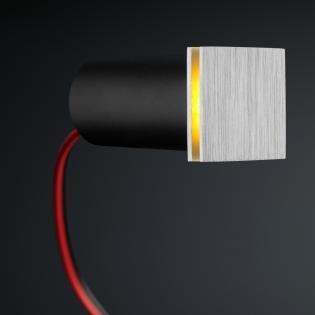 Cree LED Treppenbeleuchtung Hernani | Eckig | Warm Weiß | 1 Watt L2049