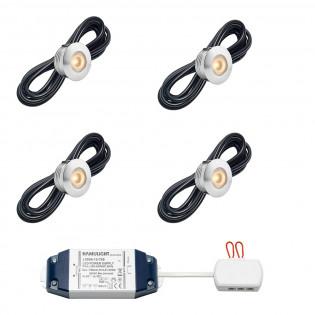 Cree LED Einbaustrahler Aragon bas | Warm Weiß | Set mit 4, 6, 8, 10 oder 12 Stück L2233