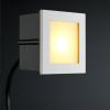 Cree LED Treppenbeleuchtung Bilbao | Eckig | Warm Weiß | 1 Watt