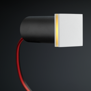 Cree LED Treppenbeleuchtung Hernani | Weiß | Eckig | Warm Weiß | 1 Watt L2247
