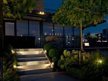 Berühmt LED Bodeneinbaustrahler außen für eine effektive Beleuchtung KV55