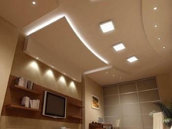 LED Einbaustrahler flach