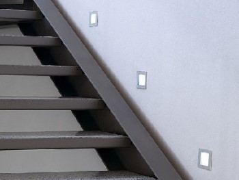 LED Einbaustrahler Treppe