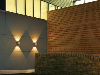 LED Wandleuchte Aussen